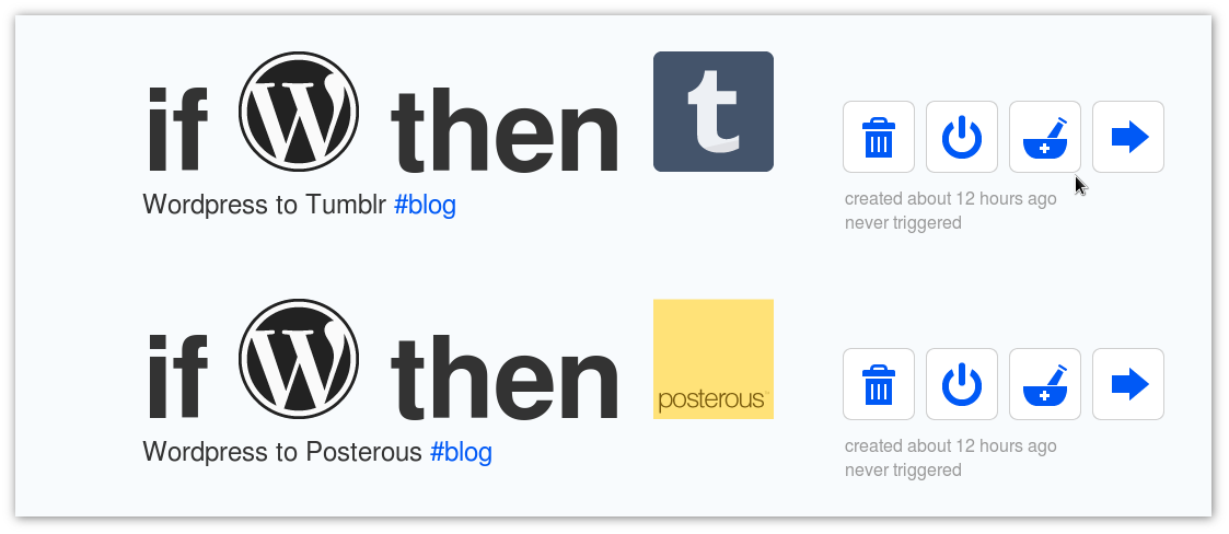 ifttt filter that should push this post to Tumblr and Posterous when this feed is updated. Let's see!